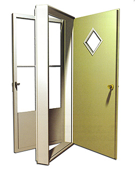 6000 Series Housetype Combination Door