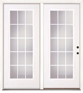 Hinge French Patio Doors